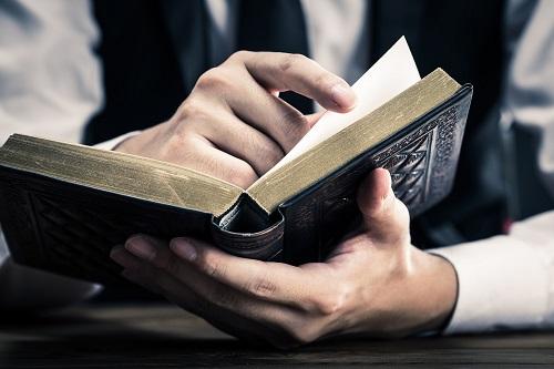 読書とビジネスマン